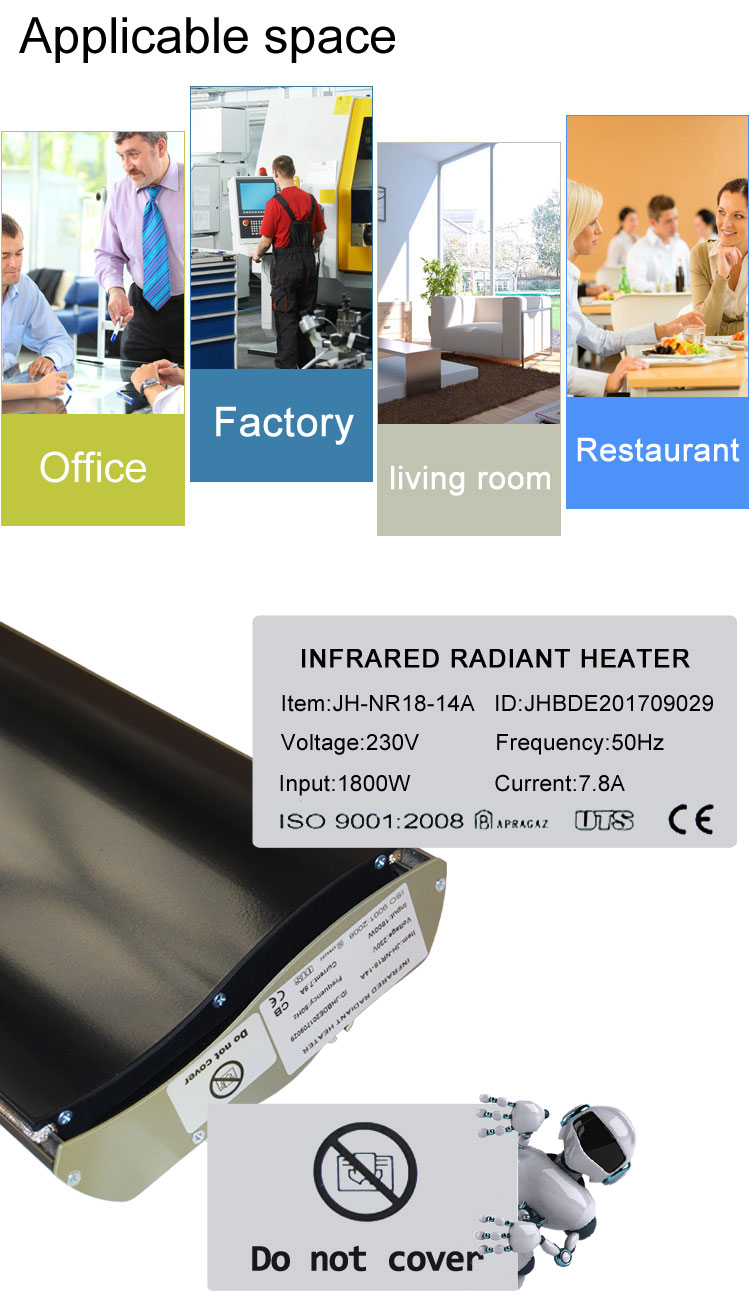 Place where heater can be installed
